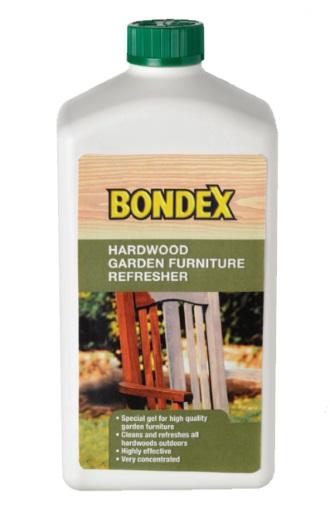 מרענן לריהוט גן מעץ קשה של Bondex - צוות-גדרון