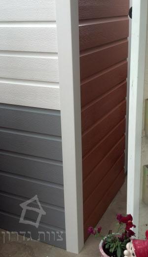ציפוי קירות חוץ צבעוני מ-PVC דקורטיבי - צוות גדרון