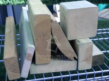 דוגמאות לוחות עץ שעבר אימפרגנציה - צוות גדרון