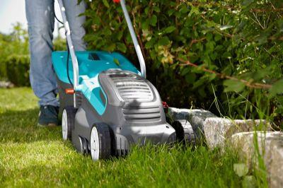 מכסחת דשא חשמלית נטענת- צוות גדרון