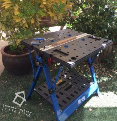שולחן עבודה נייד לנגרות - צוות גדרון