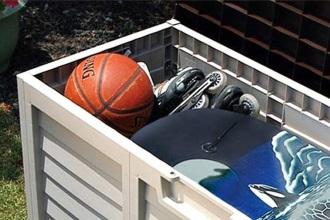 ארגז אחסון מפלסטיק לכל ציוד החצר - צוות-גדרון