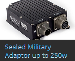 Sealed Military Adaptor up to 250w