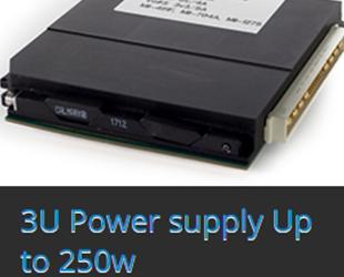 3U Power supply Up to 250w