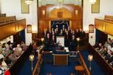 הופעה בבית הכנסת בליברפול, אנגליה, יוני 2010