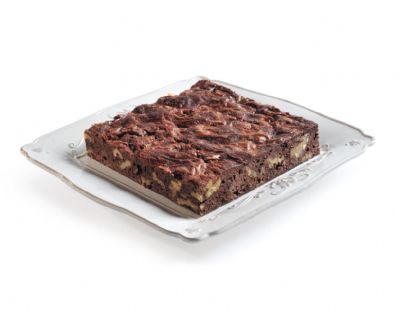 פלטת בראוניז שוקולד ואגוזים