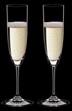 זוג כוסות רידל וינום שמפניה