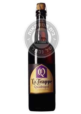 בירה לה טראפ קוודריפיל 750
