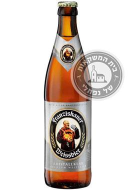 שישיית בירה פרנסיסקנר קריסטל קליר
