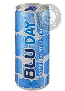 משקה אנרגיה blu day
