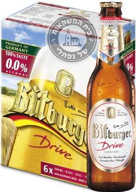 שישיית ביטבורגר בירה ללא אלכוהול