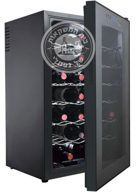 מקרר יין 28 בקבוקים עם נעילת מקשים