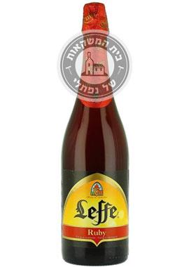 בירה לף רובי 750