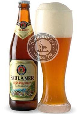 בירה פאולנר 0.5 ליטר