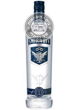 וודקה סמירנוף כחול 50%