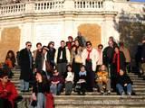 רומא, המדרגות הספרדיות, 2005