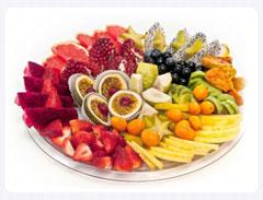 מגש פירות מהטבע באהבה L