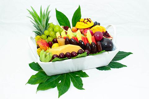 סלסלת פירות אלגנטית