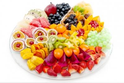 עינוגי פירות עגול