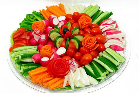 מגש ירקות XL