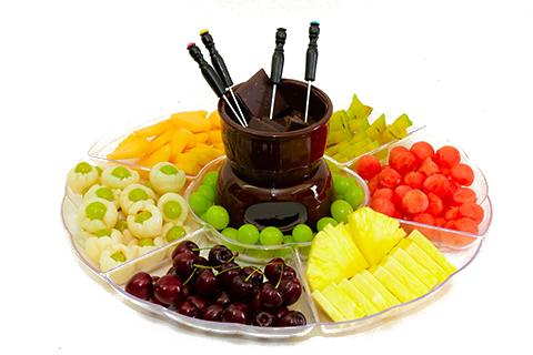 פונדו פירות ושוקולד XL