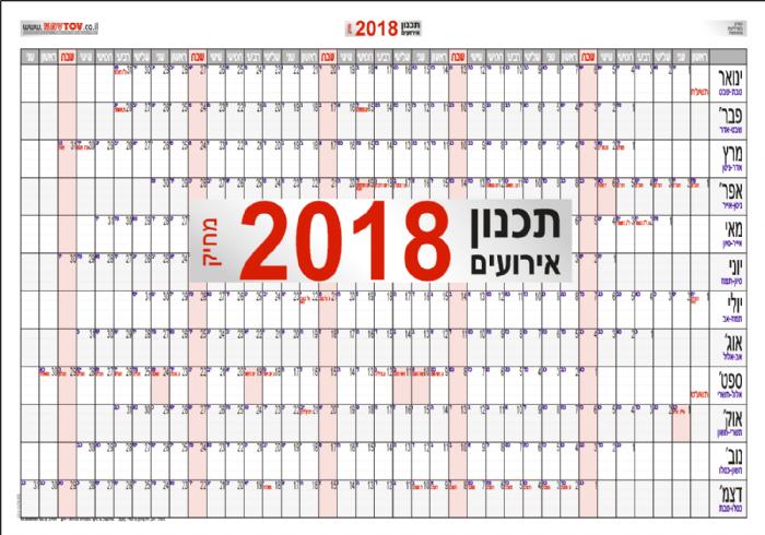 השנה העיסקית 2018