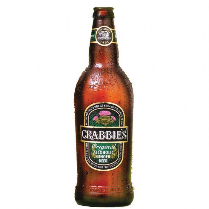 תמונה של קראביס ג'ינג'ר ביר Crabbie's Ginger Beer