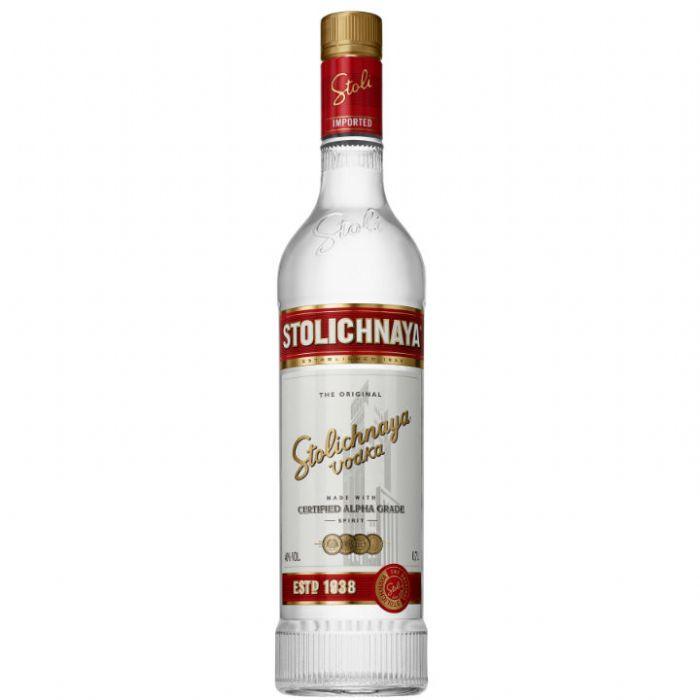 תמונה של וודקה סטוליצ'ניה ליטר Stolichnaya Vodka
