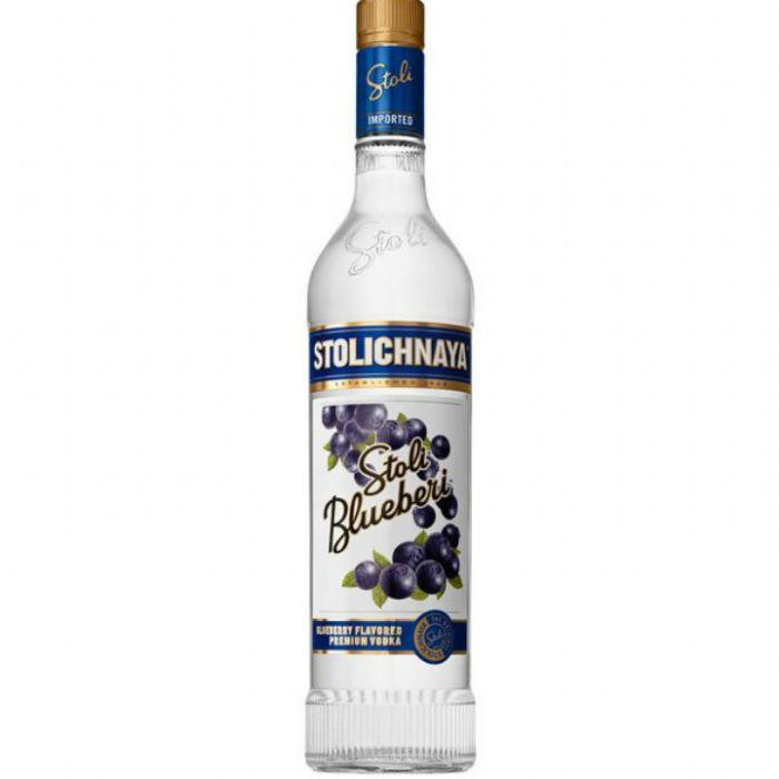 תמונה של וודקה סטוליצ'ניה אוכמניות Stolichnaya Blueberry Vodka