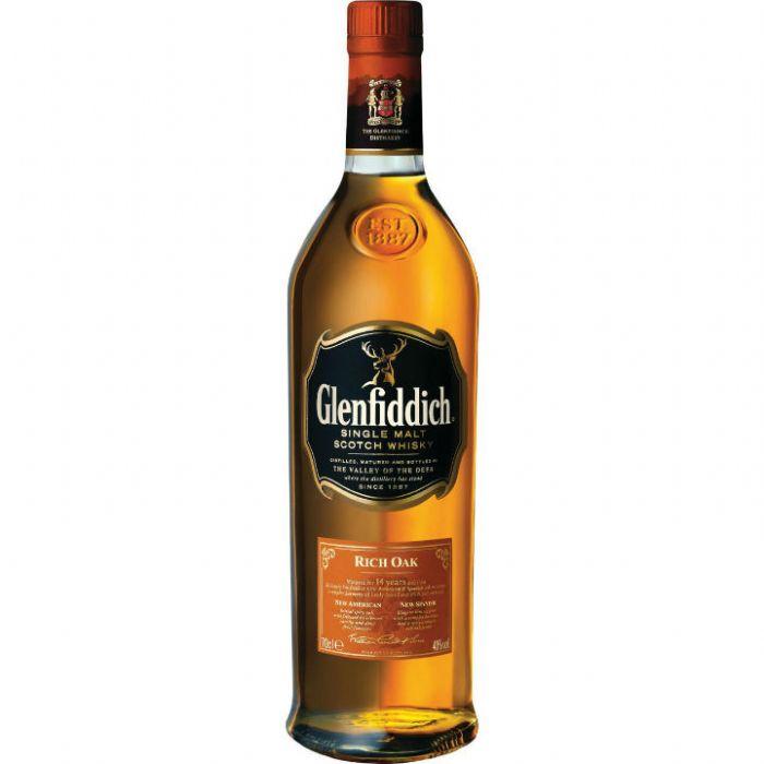 תמונה של וויסקי גלנפידיך 14 ריץ' אוק Glenfiddich Whisky Rich Oak