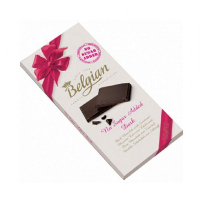 תמונה של בלג'יאן שוקולד מריר ללא טוספת סוכר