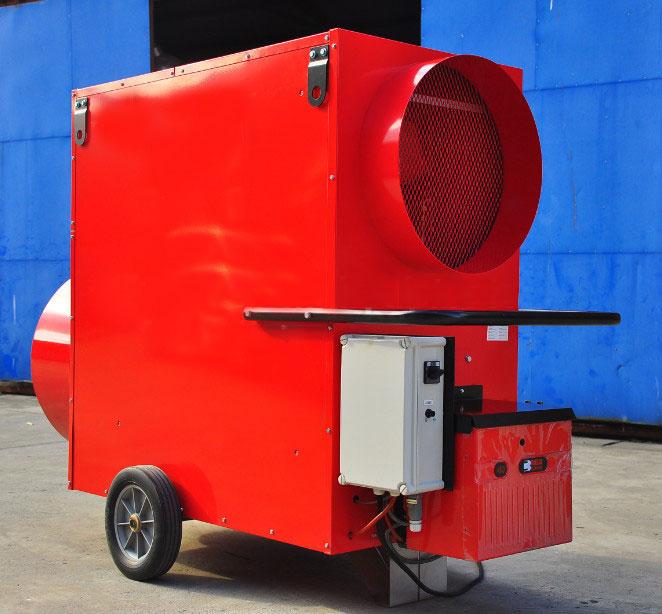 תנור אוויר חם - תמונת צד 1