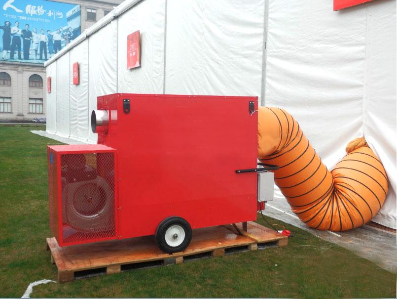 תנור אוויר חם עם שרוול 2