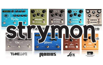 Strymon pedals