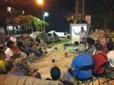 הרצאה באוהל המחאה ברמת השרון אוגוסט 2011