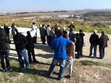 סיור בעוטף ירושלים לחברי לכוד מעפולה, בת ים ותל אביב