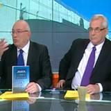 """ראיון בערץ 10 לונדון וקירשנבאום על הספר החדש """"גבול ביניני וביניכם"""" פברואר 2013"""