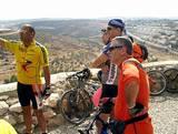 עם חברים בסיור אופניים ותצפית מיער חורשים | On a bicycle tour and overlook with friends in Horashim forest