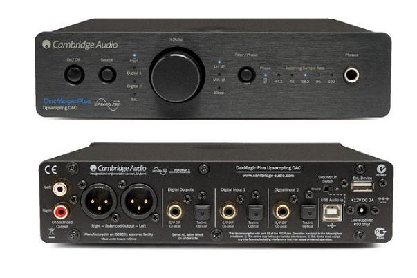 ממיר Cambridge Audio DacMagic Plus