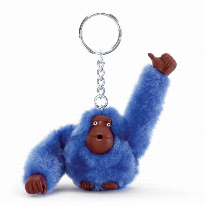 מחזיק מפתחות Kipling קוף גדול כחול