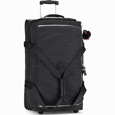 מזוודה בינונית קיפלינג טיגאן שחור