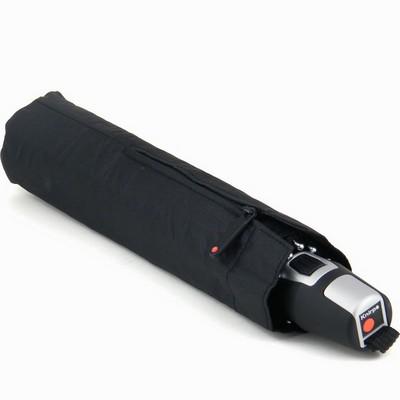 מטריות - קנירפס מטרייה קומפקטית פתיחה וסגירה אוטומטית שחור חלק