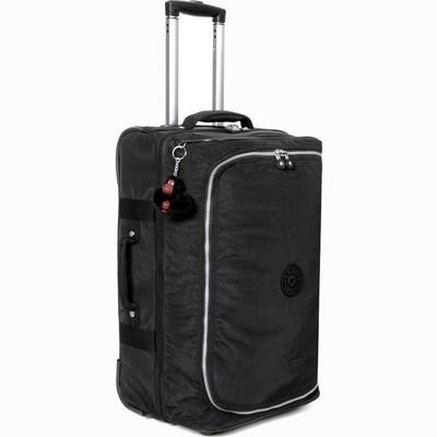 """מזוודה עליה למטוס 55 ס""""מ קיפלינג טיגאן שחור"""