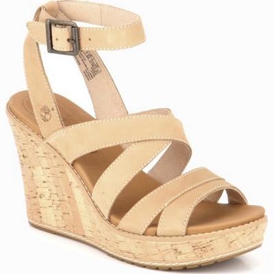 נעלי נשים טימברלנד סנדל רוקי דנפורד טבעי