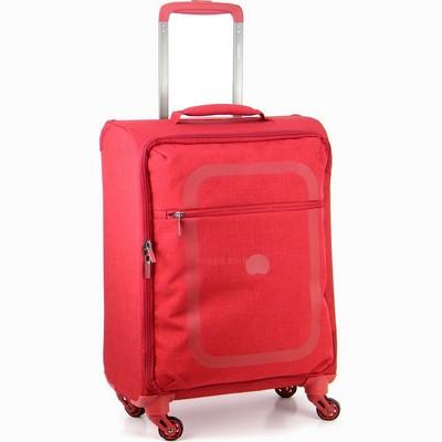 מזוודה קלה בינונית דלסי 66 דופין אדום