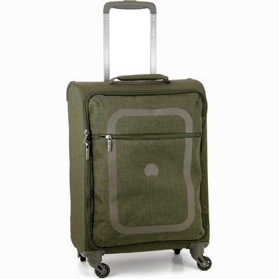 מזוודה קלה בינונית דלסי 66 דופין ירוק קקטוס