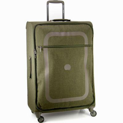 מזוודה קלה גדולה דלסי 77 דופין ירוק קקטוס