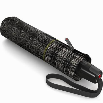 מטריות - קניפרס מטרייה קומפקטית פתיחה וסגירה אוטומטית שחור סקוטי יוניק