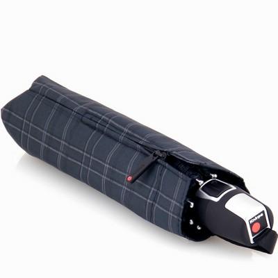 מטריות - קנירפס מטרייה קומפקטית פתיחה וסגירה אוטומטית אפור סקוטי