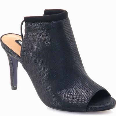 נעלי נשים גויה סנדל כפכף עקב שחור
